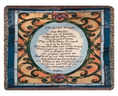 LORD'S PRAYER AFGHAN<br>(Local Delivery Only) in Circleville&nbsp;OH, Wagner's Flowers