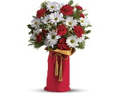 Teleflora's Holiday Wishes Bouquet in Orlando FL, Elite Floral & Gift Shoppe