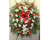 RED AND WHITE TRIBUTE in Bellmore NY, Petite Florist