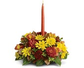 Bright to Light Centerpiece in San Clemente CA, Beach City Florist
