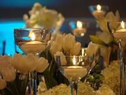 White Tulips and Hydrangeas Wedding in Cerritos CA, The White Lotus Florist