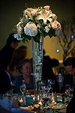 Tall White Lily and Hydrangea Centerpiece in Cerritos CA, The White Lotus Florist