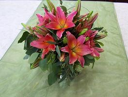 Lily Bubble Bowl Centerpiece in Quakertown, Pennsylvania, Tropic-Ardens, Inc.