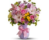 Teleflora's Perfectly Pastel - Deluxe in Laurel MD, Rainbow Florist & Delectables, Inc.