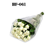 18 Roses - White - Wrapped in Cello in Fairfield CT, Town and Country Florist