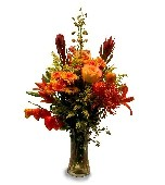 Heather''s Fall Fantasy in Mundelein IL, Debbie's Floral Shoppe