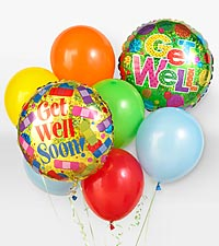 GetWellBalloons in Lansdale PA, Genuardi Florist