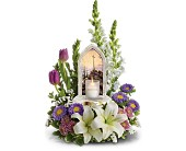Thomas Kinkade's Easter Joy Bouquet by Teleflora in Loganville GA, Loganville Flower Basket