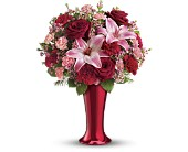 Teleflora's Red Hot Bouquet in Hoboken, New Jersey, All Occasions Flowers