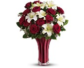 Teleflora's Ruby Nights Dozen - Deluxe in Maple ON, Jennifer's Flowers & Gifts