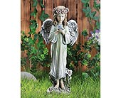 Angel with Bird in Greenfield IN, Penny's Florist Shop, Inc.