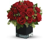 Teleflora's Ravishing Reds in Hilton NY, Justice Flower Shop