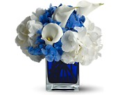 Teleflora's Waves of Blue in San Clemente CA, Beach City Florist