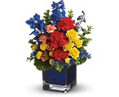 Teleflora's Color Collage in Christiansburg VA, Gates Flowers & Gifts