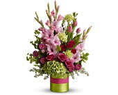 Glad All Over by Teleflora in Cambria Heights NY, Flowers by Marilyn, Inc.