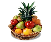 Medium Fruit Basket in Jensen Beach FL, Brandy's Flowers & Candies
