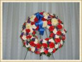 floral wreath in Weymouth, Massachusetts, Hartstone Flower, Inc.