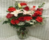 LOVE BOUQUET in Bellmore NY, Petite Florist