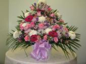 mixed pastel tribute in Weymouth MA, Hartstone Flower, Inc.