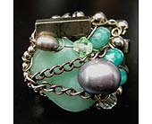 Green Jade Amazonite Silver �Starfish� Ring in Staten Island NY, Grapevine Garden and Florist