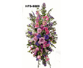 Hansen's Purple & Pink Standing Spray in Norwalk CT, Bruce's Flowers & Greenhouses
