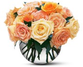 Perfect Pastel Roses in Belford NJ, Flower Power Florist & Gifts