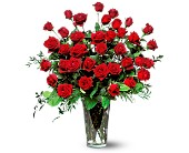 Three Dozen Red Roses in DeKalb IL, Glidden Campus Florist & Greenhouse