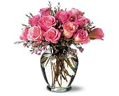 A Pretty Pink Dozen in Metairie LA, Golden Touch Florist
