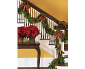 Staircase Garland in New York NY, Fellan Florists Floral Galleria