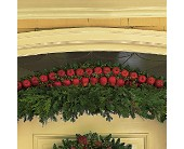 Door Garland with Apples in Toms River NJ, John's Riverside Florist