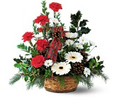 Winter Wonderland Basket in Cicero NY, Guignard Florist