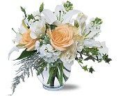 White Roses & Lilies in Oshawa ON, The Wallflower Boutique