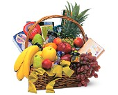 Gourmet Fruit Basket in Bedford IN, Bailey's Flowers & Gifts