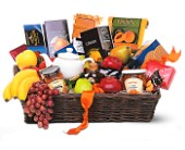 Grande Gourmet Fruit Basket in Gautier MS, Flower Patch Florist & Gifts