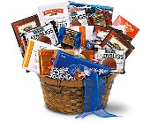 Chocolate Lover's Basket in Sevierville TN, From The Heart Flowers & Gifts