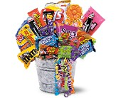Junk Food Bucket in Pensacola FL, KellyCo Flowers & Gifts