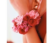 Ruby Romance Bracelet in Palo Alto CA, Village Flower Shoppe
