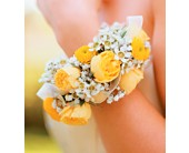 Sunshine and Roses Bracelet in Palo Alto CA, Village Flower Shoppe
