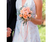 Peach Promise Bouquet in Elkin, North Carolina, Ratledge Florist