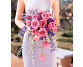 Cascading Lavender Roses Bouquet in Rockville MD, America's Beautiful Florist
