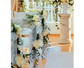 Home Ceremony Chair Cluster in Victoria, British Columbia, Jennings Florists