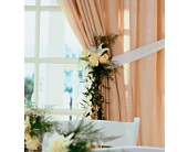 Home Ceremony Curtain Cluster in Lansdale, Pennsylvania, Genuardi Florist