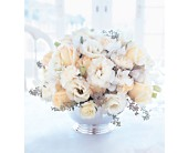 Ivory Centerpiece in Victoria, British Columbia, Jennings Florists