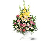 Basket of Faith in Grand-Sault/Grand Falls, New Brunswick, Centre Floral de Grand-Sault Ltee