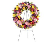 Eternity Wreath in Wallingford CT, Barnes House Of Flowers
