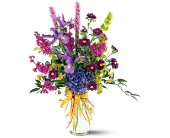 Lush Lavenders Bouquet in Hilton NY, Justice Flower Shop