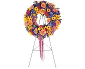 Celebration Wreath in Brooklyn NY, David Shannon Florist & Nursery