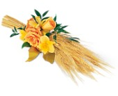 Harvest of Hope Sheaf in Jacksonville, Florida, Hagan Florist & Gifts