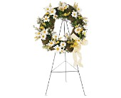 Drop of Sunshine Wreath in Oklahoma City OK, Capitol Hill Florist and Gifts