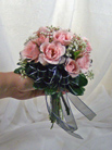 Tied Posy, Spray Roses in Royersford PA, Three Peas In A Pod Florist